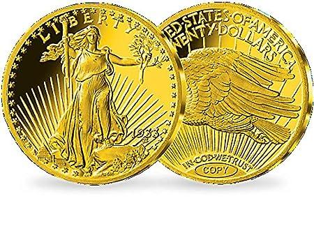 Münze Usa 1933 20 Dollar Double Eagle Saint Gaudens Amazonde