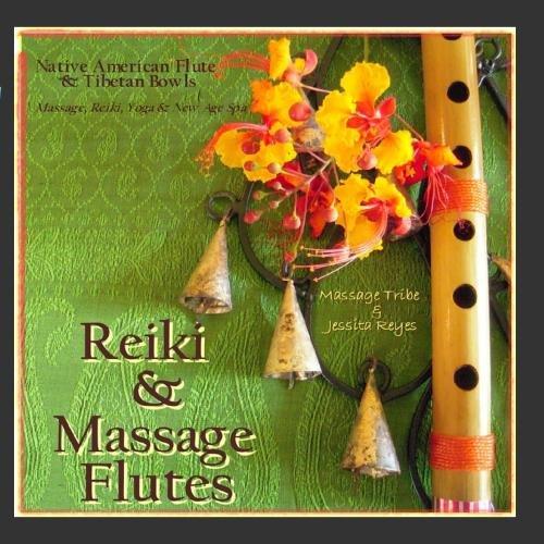 - Reiki & Massage - Flutes (Native American Flute & Tibetan Bowls for Massage, Yoga, Reiki, & New Age Spa)
