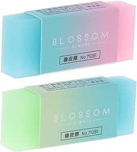 folewr-8/goma de borrar kawaii Mignon de muy alta calidad degradado de color para l/ápiz de clase B y otro l/ápiz mec/ánico