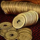 HESTYA 1 Inch Chinese Fortune Coins Feng Shui