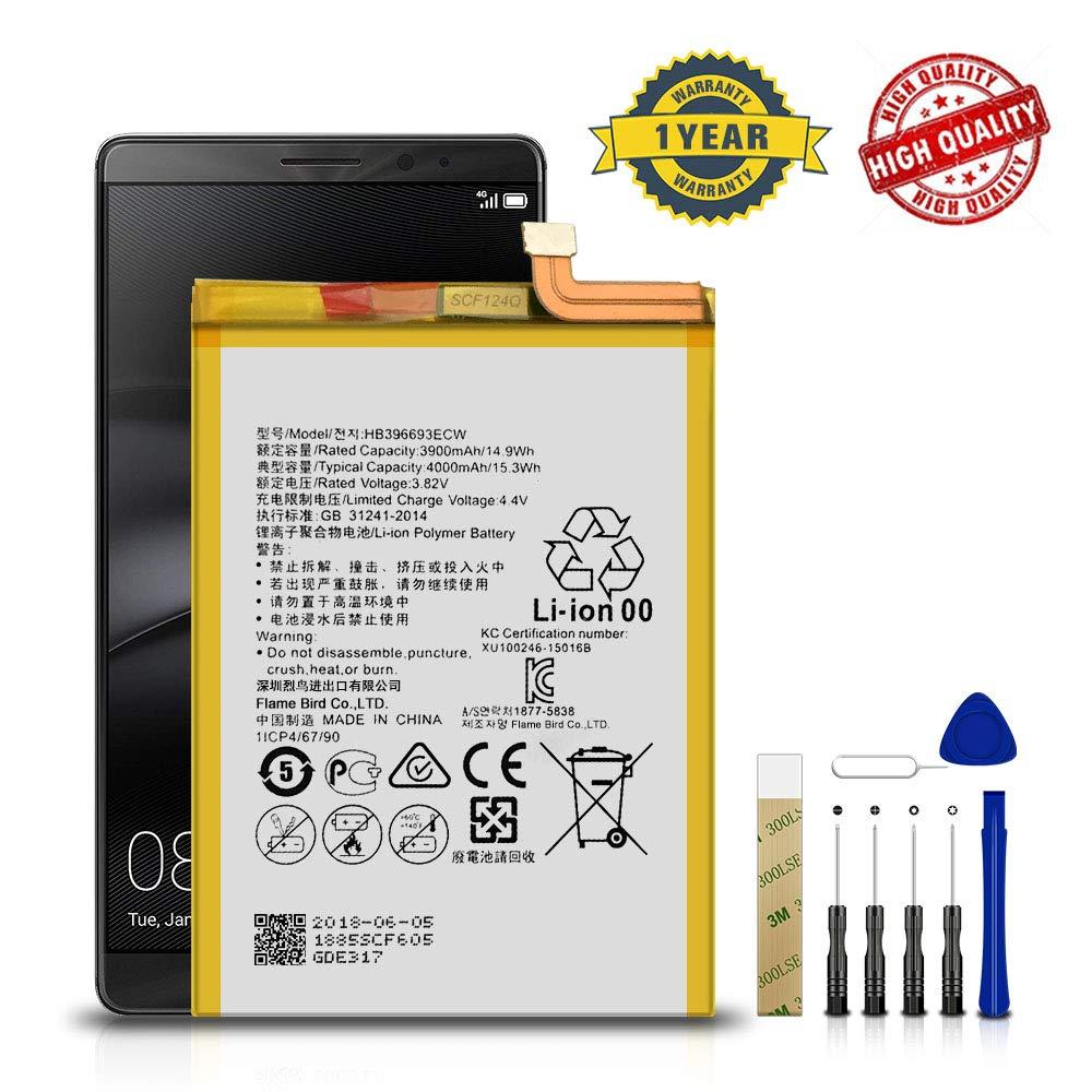 Bateria Celular Para Huawei Mate 8 Nxt L09 Hb396693ecw Free Adhesive Tool
