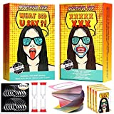 Mouthful Fun Mouth Guard Party Game, Hilarious Card Game