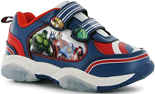 Infants Boys Printed Light Up Trainers