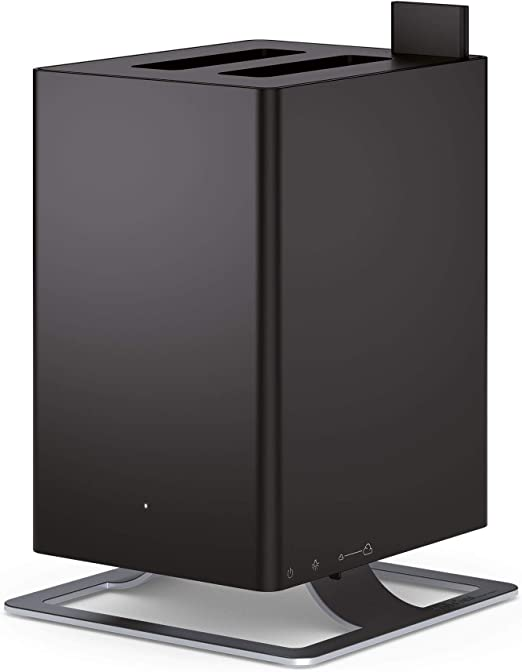 Black Anton Ultrasonic Humidifier by Stadler Form