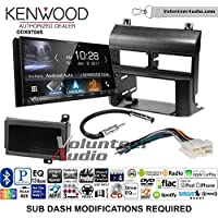 Volunteer Audio Kenwood DDX9704S Double Din Radio Install Kit with Apple Carplay Android Auto Fits 1988-1994 Blazer, Silverado, Suburban