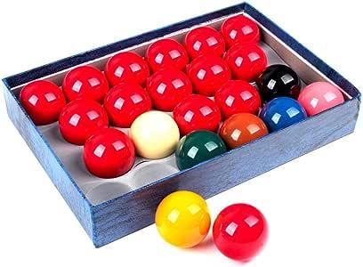 ZXH 52.5mm Resina Snooker Bolas de Billar Set-22 Pool Cue Ball: Amazon.es: Deportes y aire libre