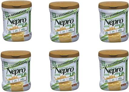 Abbott Nepro LP 6 X 400gm Vanilla Powder High Nutrition Energy Feed Carb Steady