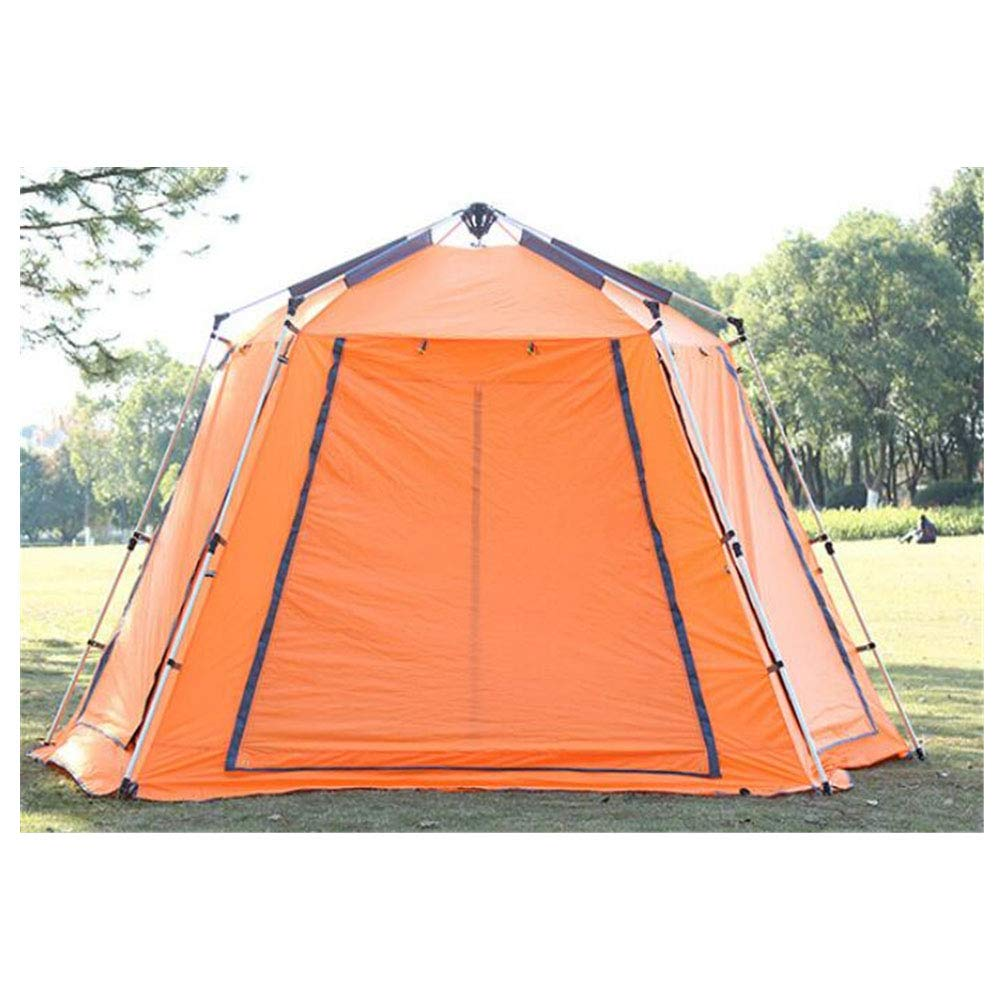 Zelt, große Outdoor-Erholung Camping Zelte Automatik 5-8 Personen Regenschutz Windproof Tourist Party Awning Zelt