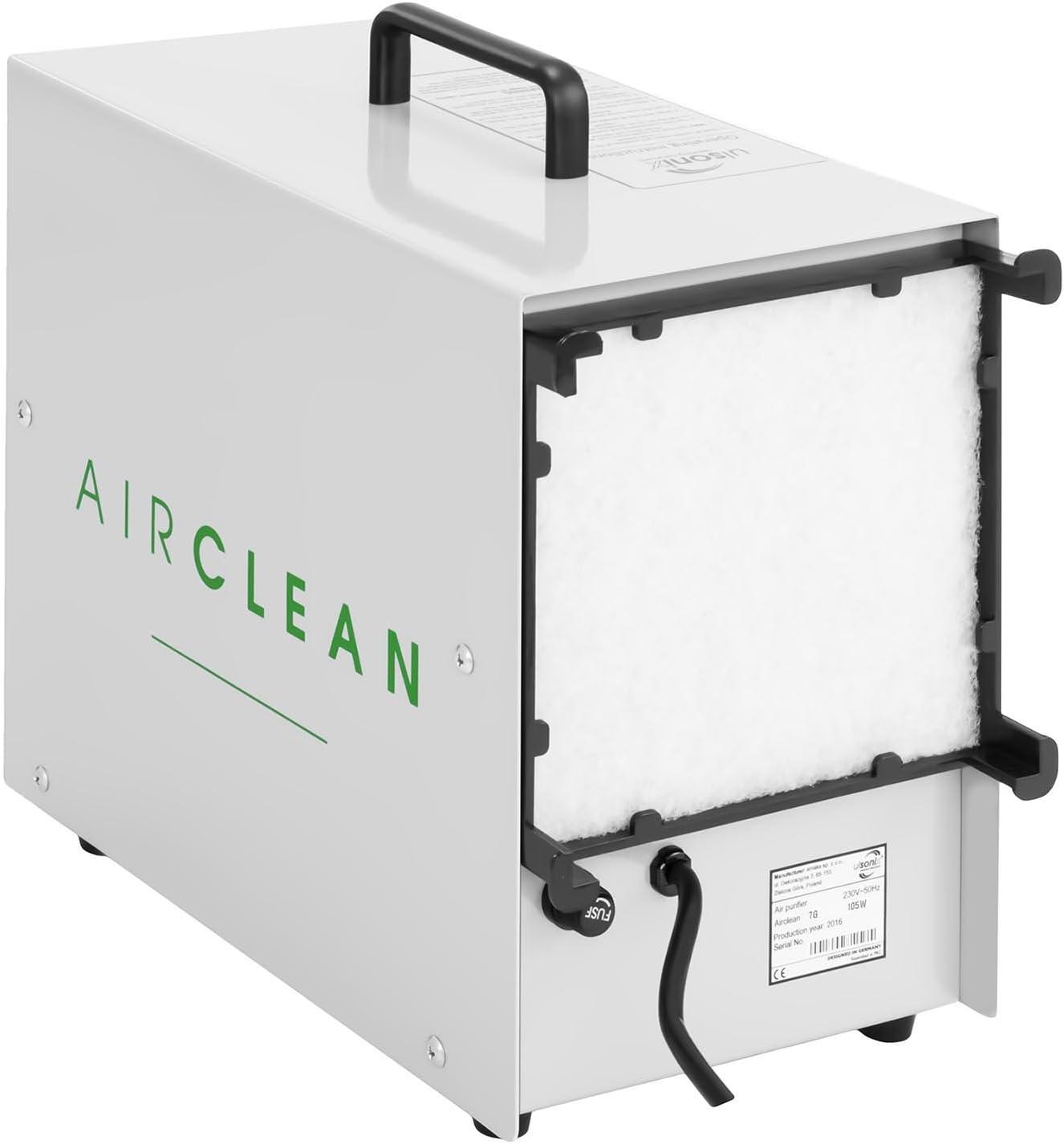 7000 mg par heure, 98 W, Minuterie, T/él/écommande incluse Ulsonix AIRCLEAN 7G G/én/érateur dozone Industrielle Blanc