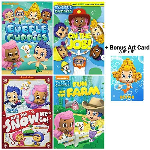 Bubble Guppies: The Deema Collection - 15 Episodes + 2 Team Umizoomi Episodes + Bonus Glossy Art Print -