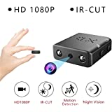 HD 1080P Mini Camera Security Cam DVR Night Vision Motion Detection Infrared(Black)