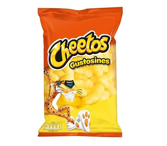 Cheetos - Gustosines Sal -Producto de aperitivo de maíz horneado - 96 g: Amazon.es: Alimentación y bebidas