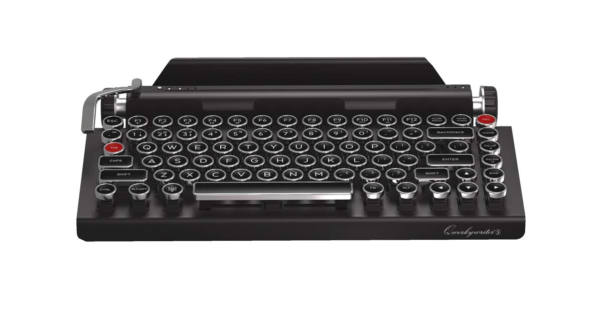Amazon Qwerkywriter S Typewriter Inspired Retro Mechanical