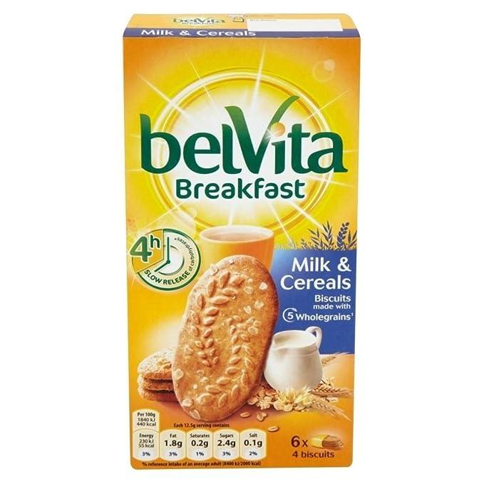 Belvita Galletas De Desayuno - La Leche Y Los Cereales (6X50g) (Paquete de