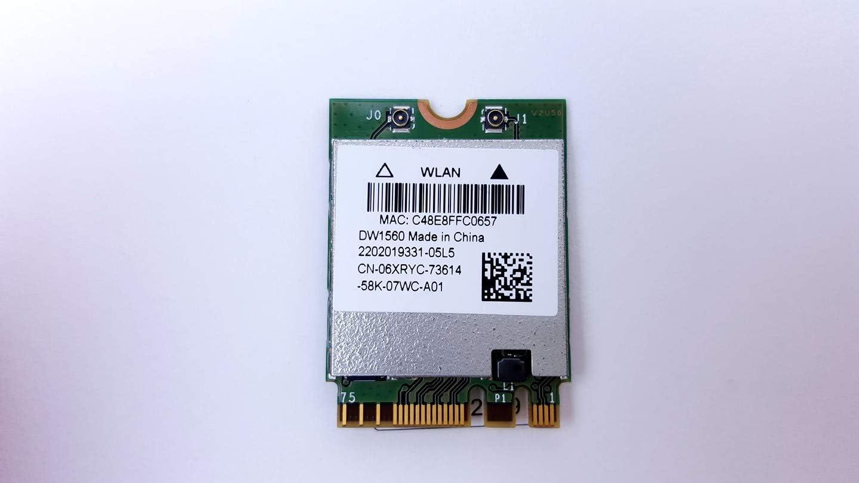 Dell Wireless DW1560 802.11 ac/b/g/n Broadcom BCM94352Z M.2 Ngff WiFi Card 6XRYC