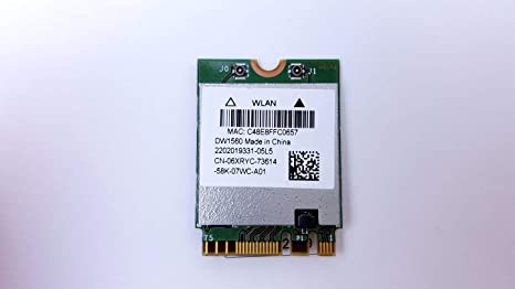 OEM DELL Broadcom 802.11 AC Wireless dw1560 bcm94352z M.2 ...