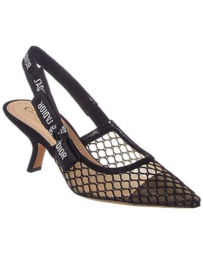 61c493af57 Amazon.com   Dior J'adior Mesh Slingback Pump, 35.5, Black   Pumps