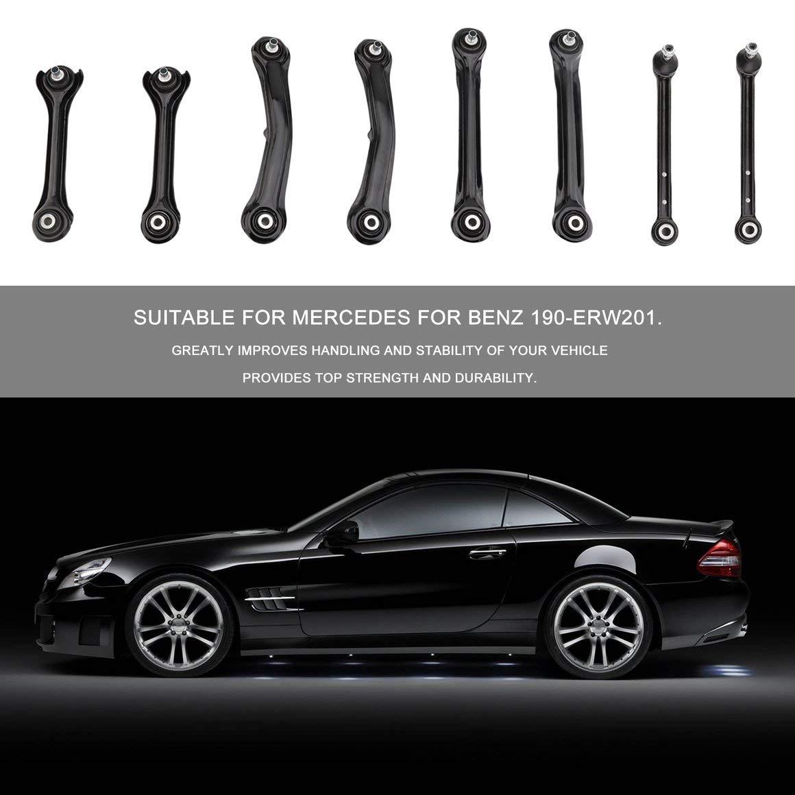 Funnyrunstore Kit De Suspension Professionnel pour Bras de Contr/ôle Avant Robuste pour Mercedes pour Benz 190-ERW201 Compact Accessoires De Voiture