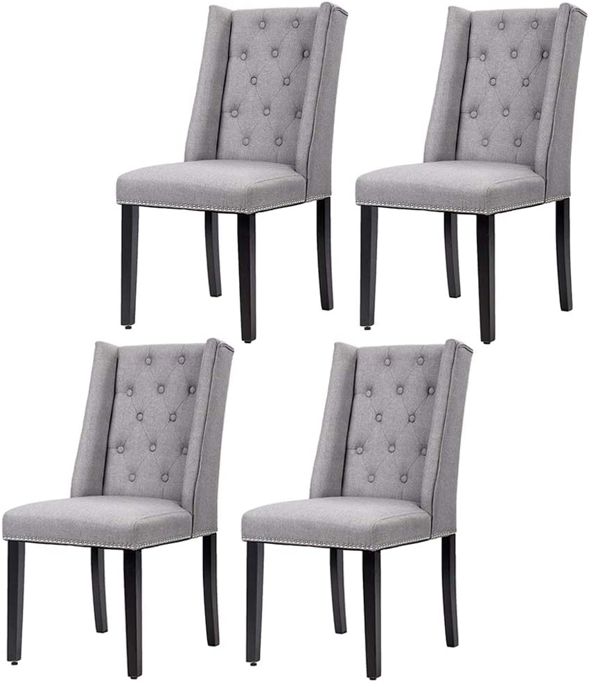 Dining Room Chairs Kitchen Chairs Parsons Dining Chairs Set of 4 Side Chair for Restaurant Home Kitchen Living Room