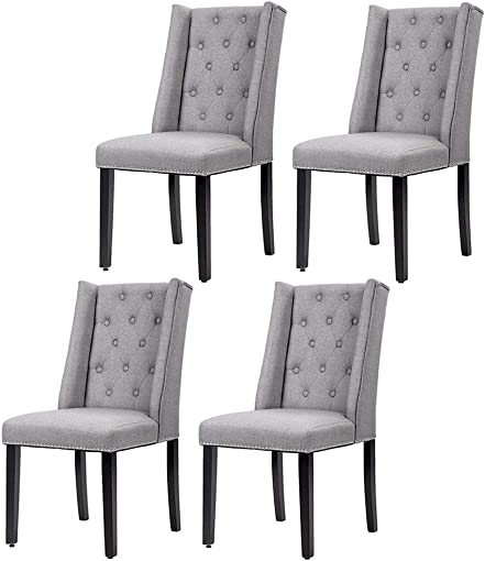 FDW Dining Chairs Dining Room Chairs Kitchen Chairs