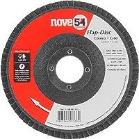 """Disco De Desbaste/acabamento, Flap-disc, Cônico, 4.1/2"""", Grão 60, Costado De Fibra, Nove54 Nove 54"""