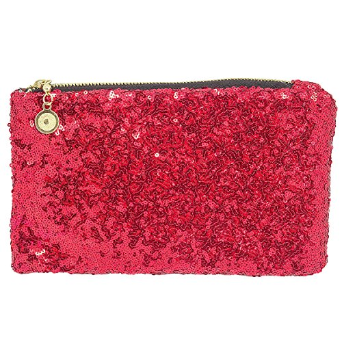 pour red TOOKY femme femme TOOKY red TOOKY Pochette femme pour pour Pochette Pochette 58vq1Wwq