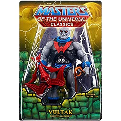 Masters of the Universe Classics Club Eternia Vultak Action Figure: Toys & Games