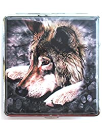 Lone Wolf Full Size Cigarette Case