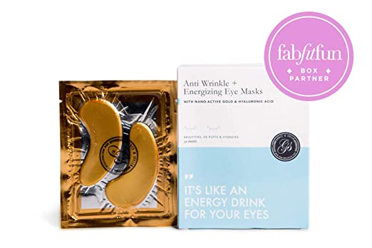 The Anti Wrinkle + Energizing Eye Masks travel product recommended by Lydia Bagarozza on Lifney.