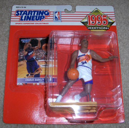 1995 Charles Barkley NBA Starting Lineup (Charles Barkley Phoenix Suns)