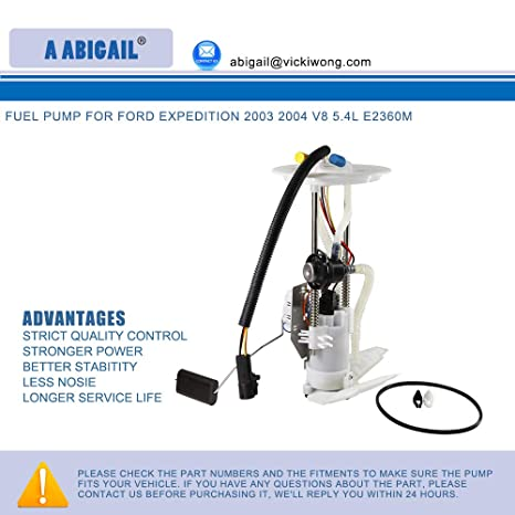Amazon.com: Fuel Pump A2360M for ford expedition 2003 2004 v8 5.4l E2360M: Automotive
