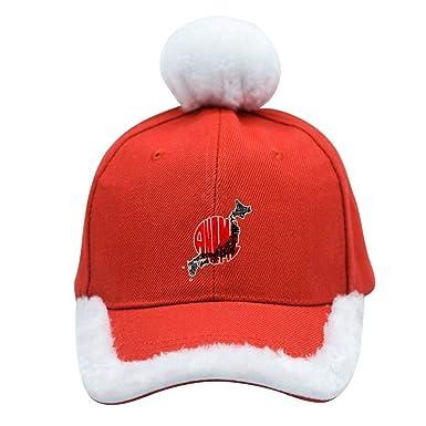 XNZXKO555 Anime Christmas Hat Red White Festival Santa Claus ...