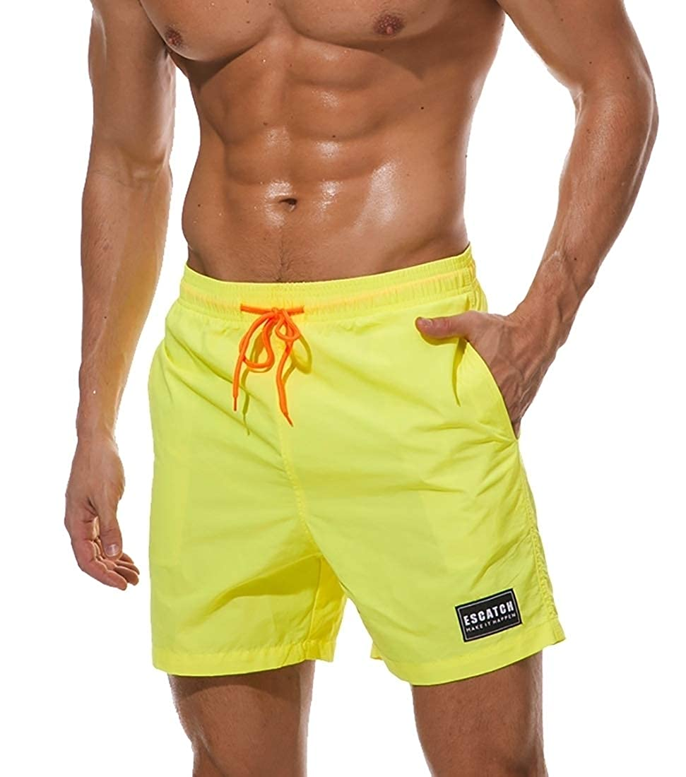HTOOHTOOH Mens Swimming Drawstring Surfing Athletic Cool Dry Beach Shorts