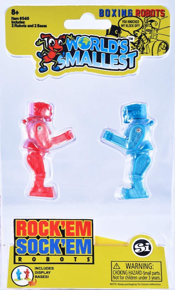 Worlds Smallest Rock 'Em Sock 'Em Robots