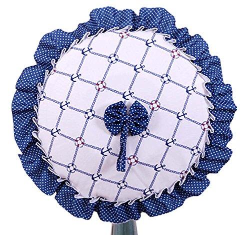 DRAGON SONIC Lace Cloth Fan Cover New Beautifu