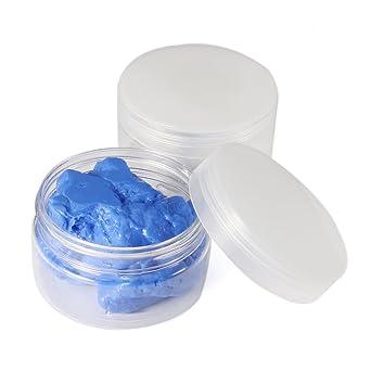 EsportsMJJ Masilla De Silicona 260G Blanco Azul Moldes Rtv Alimento Seguro Sugarcraft Caucho Moldeado