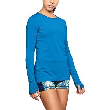 Amazon.com  Under Armour Women s HeatGear Armour Long Sleeve  Sports ... 38e6eb7ce1