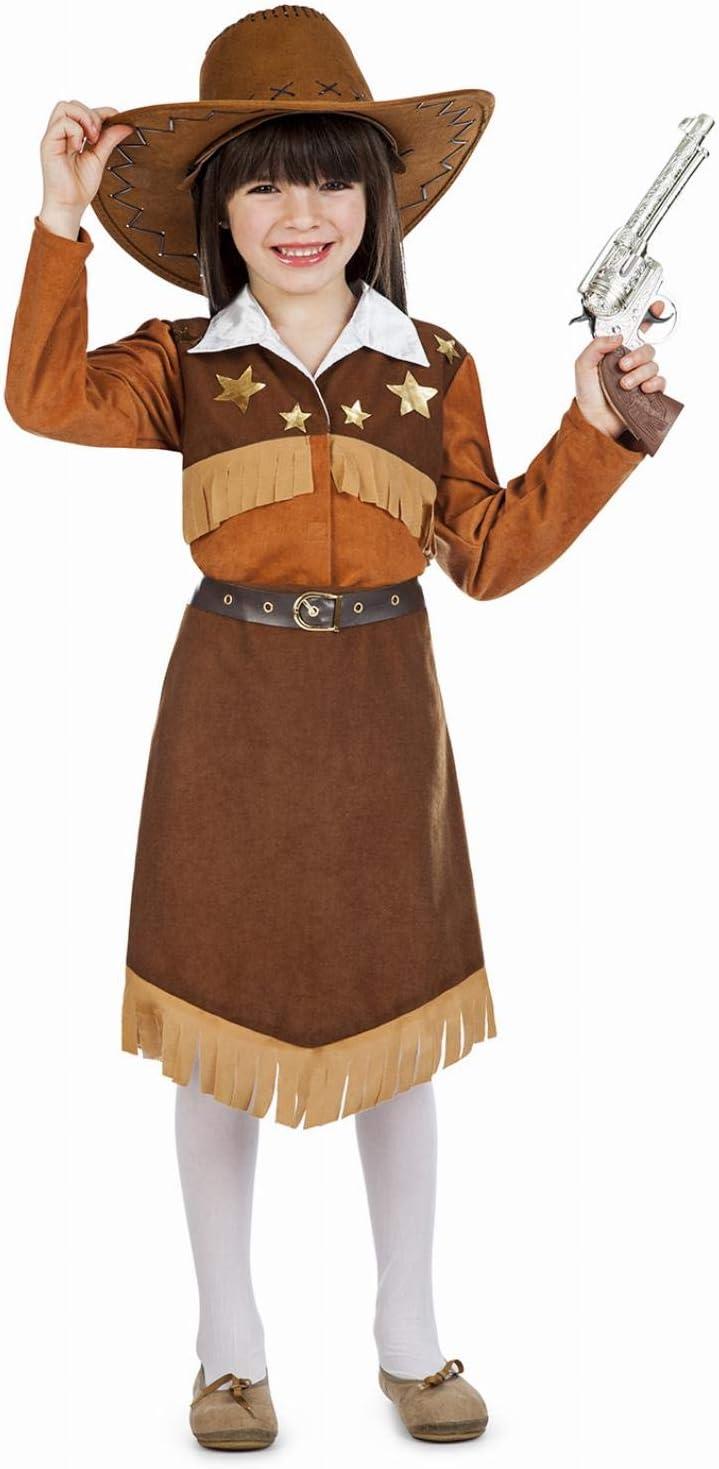 Disfraz de Vaquera Pistolera para niña: Amazon.es: Juguetes y juegos