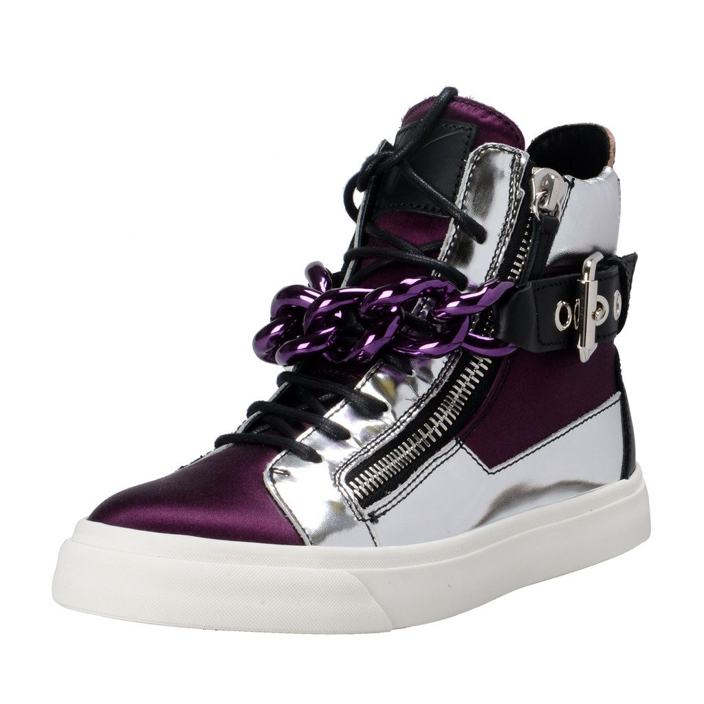Giuseppe Zanotti Design Hi Top Fashion Sneakers Shoes US 11 IT 41;