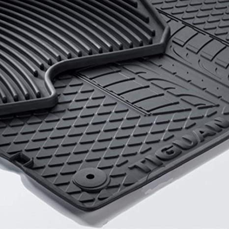 Gummi-Fußmatten VW TIGUAN II ab 2015 4 tlg Gummimatten