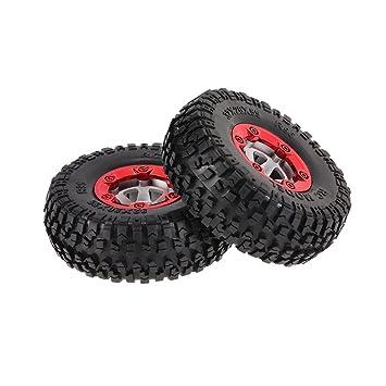 Goolsky 2Pcs FY-CL01 Neumáticos y ruedas para FEIYUE 1/12 FY-01 FY-02 FY-03 RC Piezas de Coches: Amazon.es: Juguetes y juegos