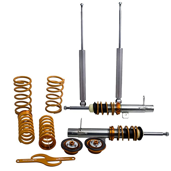 Amazon.com: maXpeedingrods Adjustable Coilovers for Ford Focus MK1 1998-2004 1.8 16V TDCi Coilover Suspension Struts: Automotive