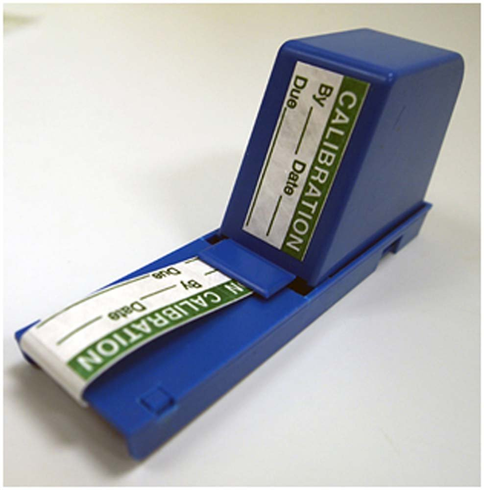 National Marker Corp. PCLD1 Dispensing Calibration Labels