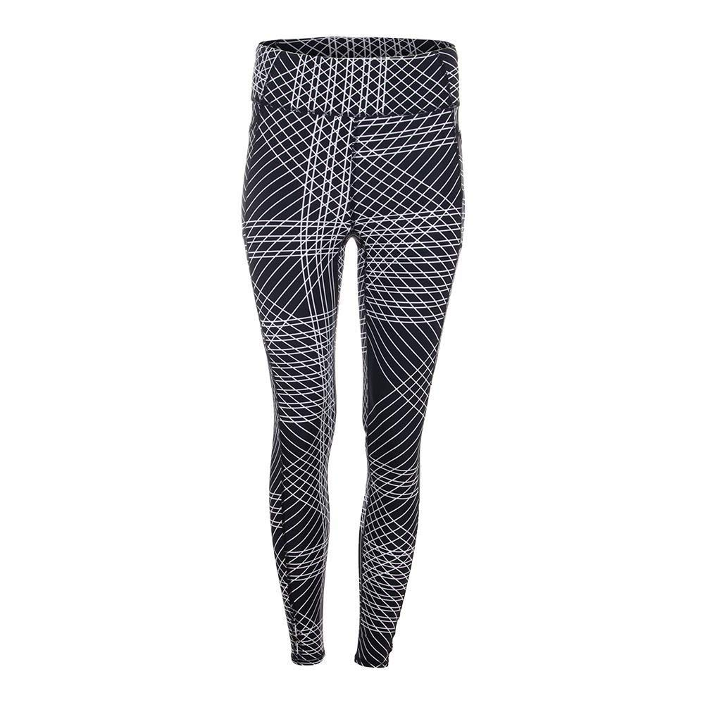Tail-Women`s Ivory Tennis Legging Flow Print-(604084667878)