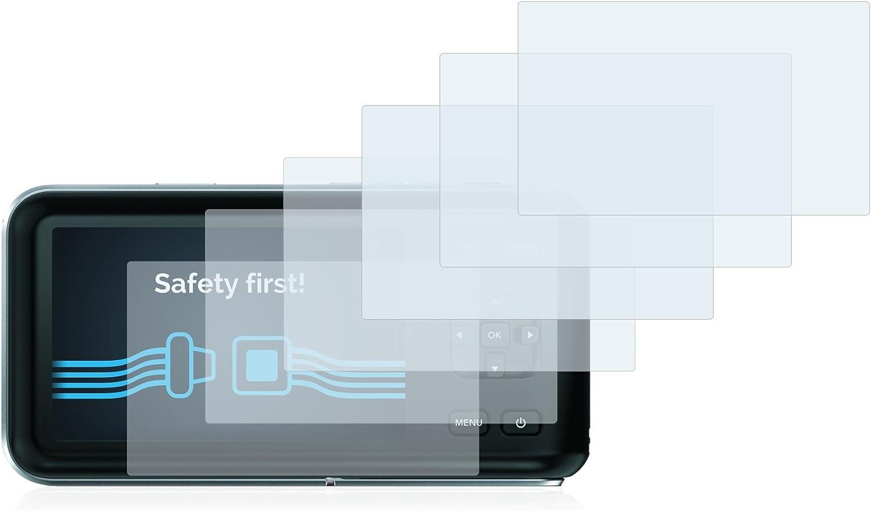 Savvies 6X Schutzfolie kompatibel mit Blackmagic Pocket Cinema Camera Displayschutz-Folie Ultra-transparent