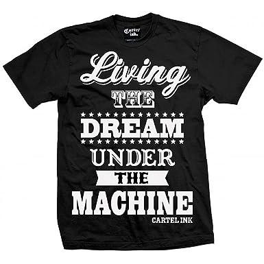 Amazon.com: De los hombres Cartel tinta Living The Dream en ...