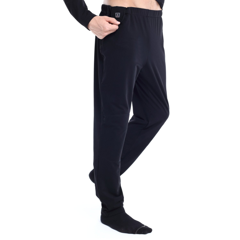 Glovii Akku Beheizte Thermoaktive Lange Hosen, Größen  S, M, L, XL