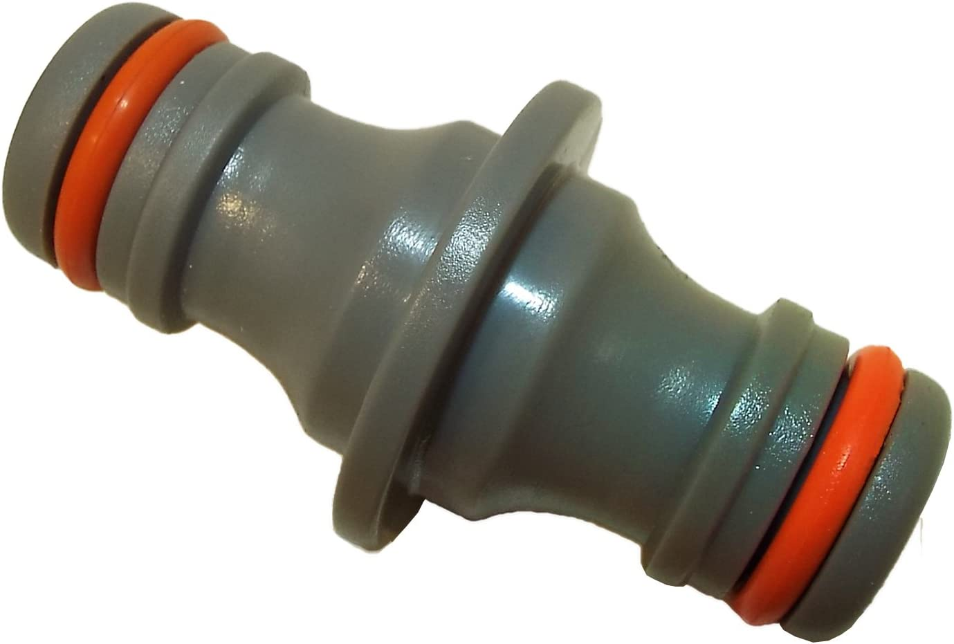 Two way double male hose connector joiner Hozelock compatible