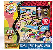 Far Out Toys Ryan's World Road Trip Board Game  - Includes Collectible Figurines, Micro Figure Cards & Sur