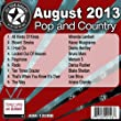 All Star Karaoke August 2013 Pop and Country Hits B (ASK-1308B)